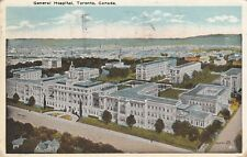 Antique POSTCARD c1922 General Hospital TORONTO, ON CANADA