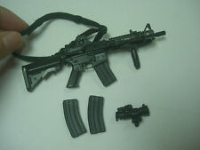 "1/6 Scale Playhouse US Navy Seal VBSS M4-CQBR assault rifle+mags 12"" figure"