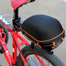 Bike Pack Rear Rack Bag Bicycle Cycling Carrier Seatpost Pannier Frame Black