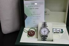 ROLEX DATEJUST MIDSIZE 31MM 78274 STAINLESS & 18K GOLD BOX & PAPERS 2003 MINT