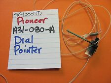 PIONEER A31-080-A DIAL POINTER STRING  ASSEMBLY SX-1000TD SX-1000TW RECEIVER