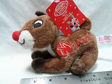 2016 Rudolph Co. Rudolph The Red Nosed Reindeer Plush plays Rudolph Song!!