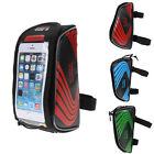 Waterproof Bicycle Cycling Bike Frame Front Tube Bag for 5.5