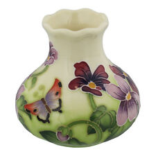 Old Tupton Ware TW7983 Primrose & Butterfly Vase in Gift box  22185