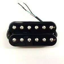 Bare Knuckle Pickups Warpig Wide Spacing Open Black Coils Bridge Humbucker