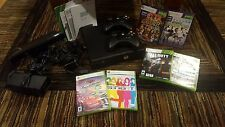 Microsoft Xbox 360 Kinect & Adventures Bundle 4GB Matte Black Console (PAL)
