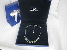 Genuine Swarovski Jade ECLIPSE necklace mother's birthday wedding prom RRP£120