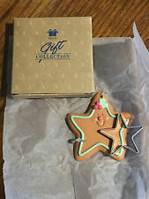 Brand New! Avon Cookie Cutter Cuties Ornaments Christmas Star! Great Baker Gift!