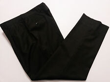 Jos A Bank Mens Dress Pants Tag 34R - Actual 36 x 30 Charcoal Gray Wool Cashmere