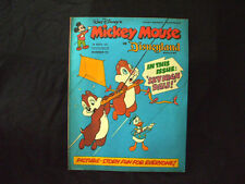Walt Disney's MICKEY MOUSE IN DISNEYLAND Magazine 5th March 1977 Number 72