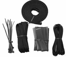 OKGear OK430K Black Wire Sleeving Cable Management Pack