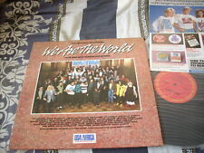 """a941981 Michael Jackson & Others12"""" LP We Are the World"""