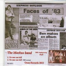 (ED780) The Markus Band, No One Can Tell - 2013 DJ CD