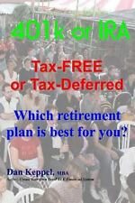 401k or IRA Tax-FREE or Tax-Deferred : Which retirement plan Is best for You?...