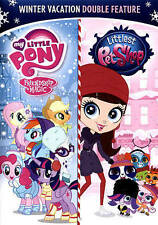 MY LITTLE PONY FRIENDSHIP IS MAGIC & LITTLEST PET SHOP DVD 6 Episodes [V45]