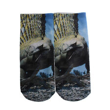 Hot Casual Cotton 3D Animals Printed Low Cut Unisex Multicolor Ankle Socks 159#