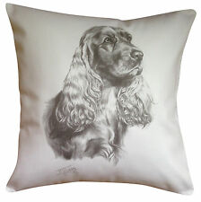 Cocker Spaniel MS Breed of Dog Themed Cotton Cushion Cover - Perfect Gift