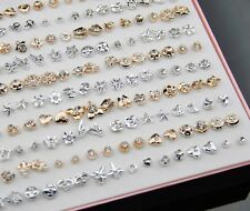 Lots 200 pairs with box Cute Mixed-style Earrings ED250
