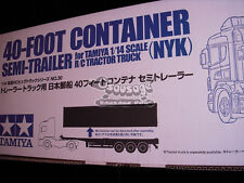 Tamiya 56330 1/14 40ft Container Semi-Trailer (NYK)  RC Tractor Truck use sda563