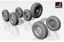 Armory ARAC7257 1/72 Resin Russian WWII ZiL-131 Wheels w /M-93 Tires