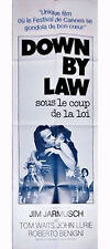 Affiche 60x160cm DOWN BY LAW (1986) Jim Jarmusch - Tom Waits, Lurie, Benigni TBE