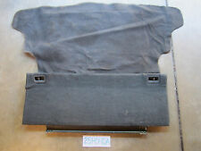 1988-1991 Honda CRX SI Rear lower Cargo Cover + Rear Carpet Black Rare CR-X
