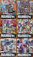 Mambo 'Yardage' Cork Backed Coasters - Set of 6 *NEW*