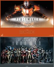 Recto verso poster seul Hot Toys iron man 3 peacemaker mark 36 xxxvi
