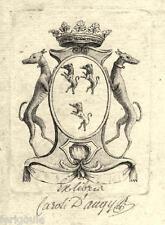 EX-LIBRIS de Charles d'AUGY. Ile-de-France.