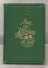SONGS OF THE AFFECTIONS by FELICIA HEMANS 1865 ILLUSTRATED EDITION