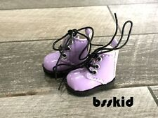 D02 Blythe Pullip Dal Lati Yellow Doll Shoes LAVENDER Boots