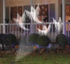 Gemmy Halloween Ghosts Projection Lights Yard/Lawn Decoration Display Spooky 616