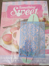 DEAGOSTINI SOMETHING SWEET MAGAZINE ISSUE 6 - WITH ORNATE STENCIL & GIFT BOX