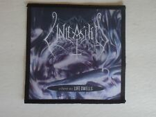 UNLEASHED WHERE NO LIFE DWELLS SUBLIMATED PATCH