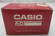 Vintage NOS Casio Model AD-K64 Input AC Adapter New in Box