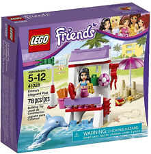 JANUARY 2014 LEGO FRIENDS 41028 EMMA'S LIFEGUARD POST, NEW & SEALED, GREAT GIFT!