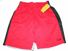 CHAMPION ACTIVE PERFORMANCE ATHLETIC BASKETBALL SHORTS RED FOR MEN MEDIUM