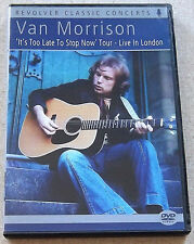 VAN MORRISON Live in London DVD SOUTH AFRICA Cat# REVDVD579