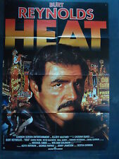 HEAT - Burt Reynolds, Karen Young - Jerry Jameson - Filmplakat A1