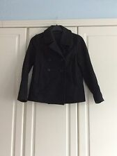 Cos Short Wool Double Breasted Jacket Size 36