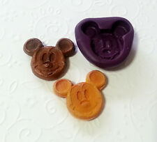 Silicone Mold Mickey Mouse Pancake (26mm) Candy Chocolate Resin Clay Dollhouse