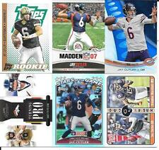 JAY CUTLER NICE (6) CARD ROOKIE & INSERT LOT  SEE SCAN & LIST FREE COMBINED S/H