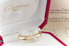 Schmuck Cartier Ellipse Solitär Ring 1 Brillant In 750er Gelbgold 18 Karat Gr 49