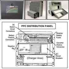 PPC-45 POWERMAX 3 STAGE 45 AMP AC/DC DISTRIBUTION PANEL W/ CONVERTER & CHARGER