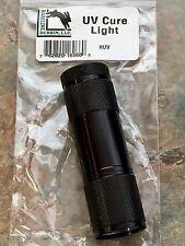 HARELINE DUBBIN UV CURE LIGHT. UV EPOXY/ RESIN FLASHLIGHT FOR FLY TYING. NEW