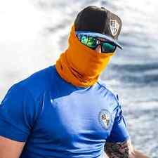 Salt Armour Tactical Orange Face Shield Balaclava Neck Gaiter Bandana Sun Mask