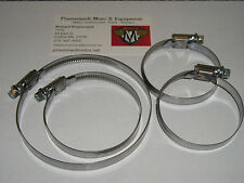 Maico carb and airboot clamp set- fits 68-85 - new.