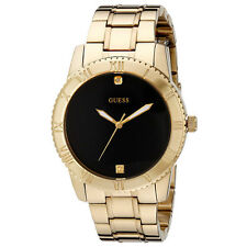 NEW GUESS WATCH Men * Gold Tone and Black * Stainless Steel * U0416G2