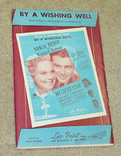 My Lucky Star - Sonje Henie Richard Greene - Sheet Music BY A WISHING WELL