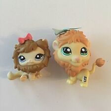 Littlest Pet Shop Cat & Lion Set #1004 #1005